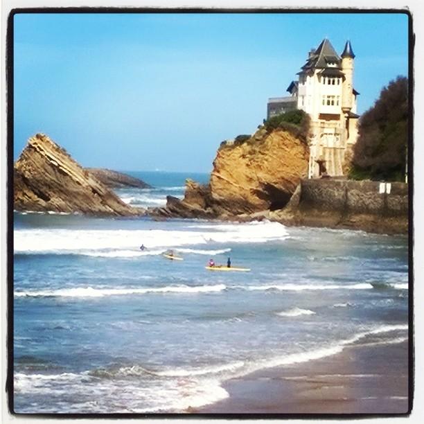 Cours de surf biarritz