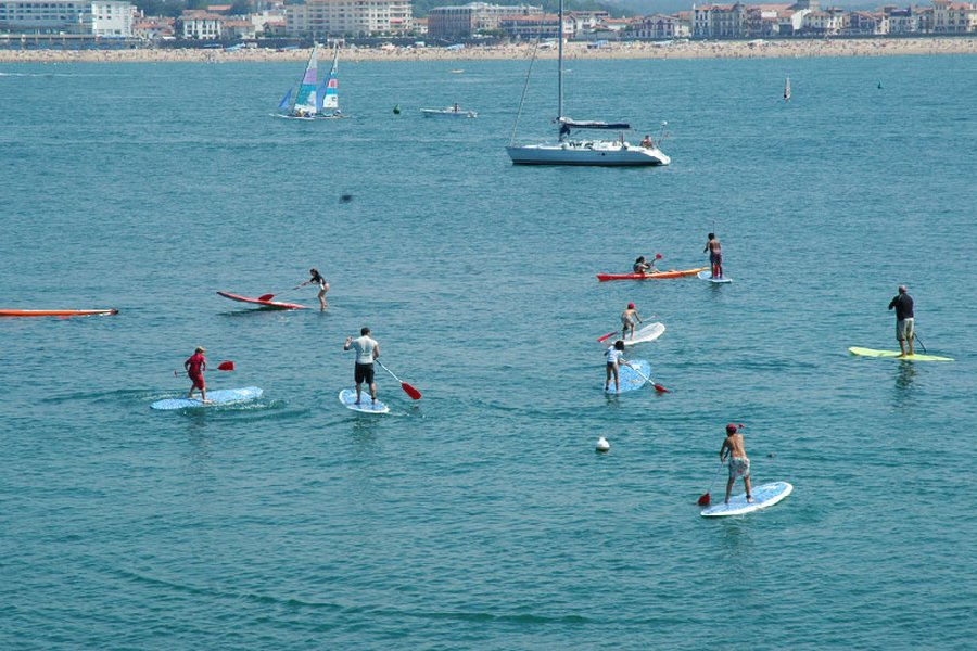 Stand Up Paddle Biarritz cours